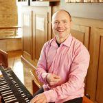Patrick Gläser, Orgel - Foto: Michael Schaffert
