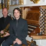 Die Solisten Ralf Benschu und Jens Goldhardt