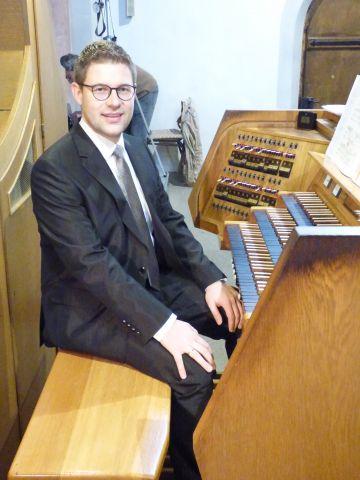 Gestaltete einen würdigen Abschluss der diesjährigen Zwieseler Orgeltage: Thomas Hödl - Foto: Bismarck