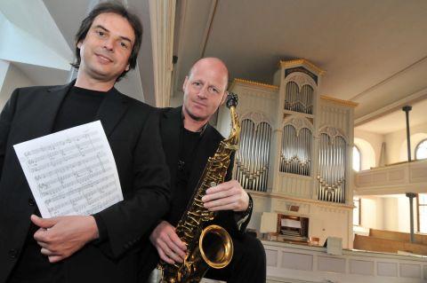 Jens Goldhardt und Ralf Benschu